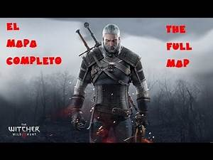 The Witcher 3 Gameplay - The Full Map / El mapa completo