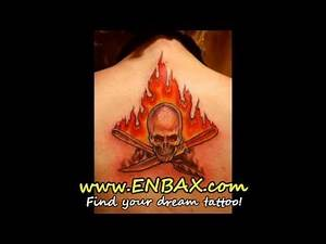 Fire Tattoos, Flame Tattoos