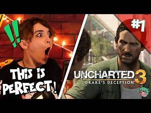 Let's Play UNCHARTED 3: DRAKE'S DECEPTION (Part 1) Greatness from Small Beginnings!