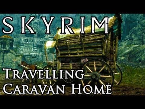 Skyrim Mod: Travelling Caravan Home