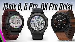 Garmin fēnix 6 / 6 Pro / 6X Pro Solar - All the details!