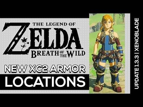 Breath of the Wild   New Xenoblade 2 Armor Locations