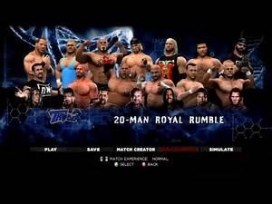 WWE 13 20 Man Royal Rumble WCW 1 Main Event
