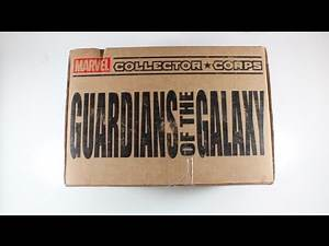 December Guardians of the Galaxy Marvel Subscription Box!