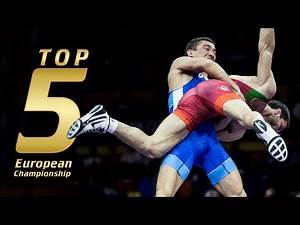 Top 5 move European Championship | WRESTLING