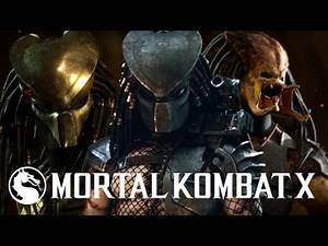 Mortal Kombat X: New Predator Mimicking Easter Egg All Mimicking Dialogue