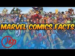 60 Seconds of Marvel Comics FACTS