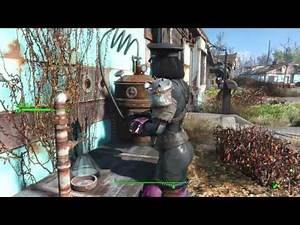 Fallout 4 PS4 MODS - RED PLASMA GRENADE LAUNCHER
