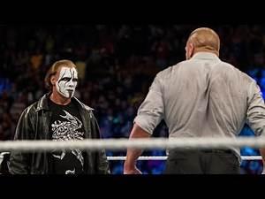 Sting shocks Triple H with WWE debut: Survivor Series 2014
