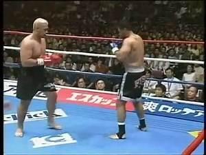 K1 Funniest Fight Ever Mark Hunt vs Ray Sefo