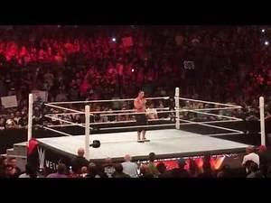 John Cena Speech After Raw Goes Off Air (RAW Chicago 7/6/15)