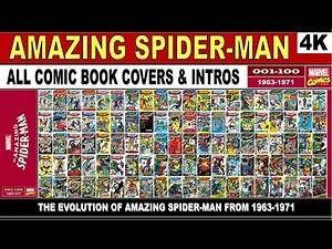 Amazing Spider-Man Covers & Intros - 4K