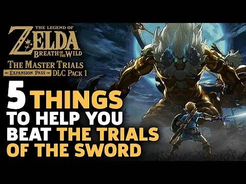 5 Essential Tips To Help You Beat The Trials Of The Sword - Zelda: Breath Of The Wild