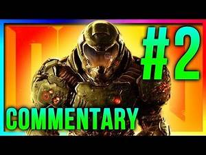 DOOM - Let's Play (Part 2) Commentary Gameplay