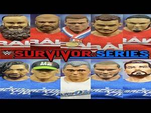 WWE Survivor Series 2017 Predictions! WWE Elites!