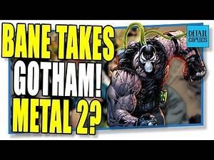 Batman #75 Starts City Of Bane! Is Snyder Scripting A Sequel For Metal? (DC Comics WonderCon 2019)