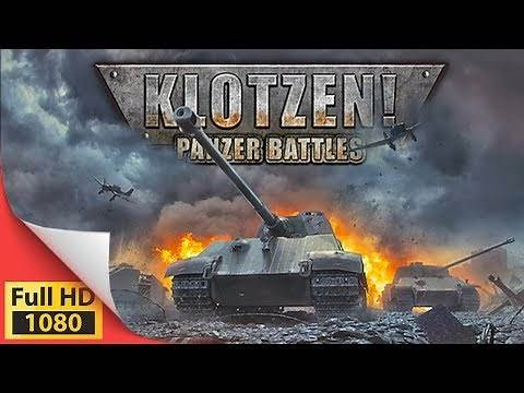 Klotzen! Panzer Battles - World War 2 turn based strategy game - PC