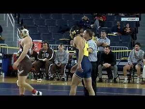 174 Pounds #3 Myles Amine (Michigan) vs. #7 Jordan Kutler (Lehigh)   Big Ten Wrestling
