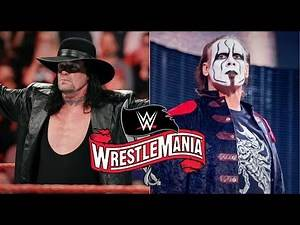 WWE To Book Sting's Dream Match For WrestleMania 36!