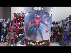 Marvel Legends Spider-Man Homecoming Tech Suit Spider-Man review