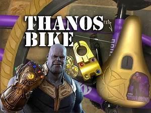 Custom Thanos BMX Bike @ Harvester Bikes