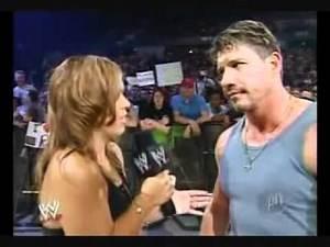 Eddie Guerrero Yells at Vickie Guerrero