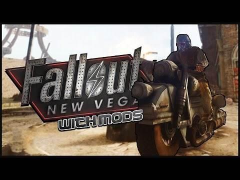 MOTORBIKE MADNESS - Fallout: New Vegas (Mod Gameplay Montage)