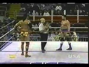 Razor Ramon vs Barry Horowitz