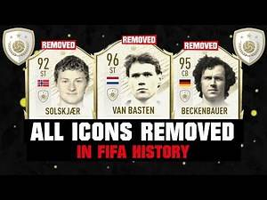 ALL ICONS REMOVED IN FIFA HISTORY! 😱⚠️  FIFA 14 - FIFA 21
