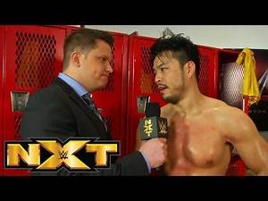 Hideo Itami attempts to react to his defeat: WWE NXT, February 04, 2015