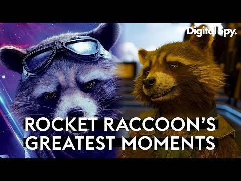 Rocket Raccoon's Funniest Moments | Guardians of the Galaxy Avengers