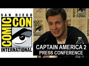 Captain America 2 The Winter Soldier Interview - Comic Con 2013 - Beyond The Trailer