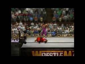 Bret Hart vs Yokozuna vs Hulk Hogan WWE 2K14 WrestleMania IX