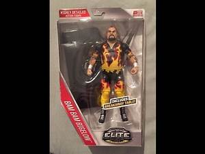 WWE Mattel Then Now Forever Elite Bam Bam Bigelow Unboxing