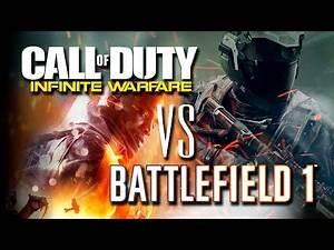 Call of Duty: Infinite Warfare VS Battlefield 1 | LaPS4