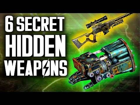 Fallout 3 - 6 Secret Unique Weapons - Hidden Weapons Location Guide