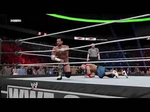 WWE 2K15 [SIMULATION] - CM Punk vs John Cena Money In The Bank 2011 Highlights