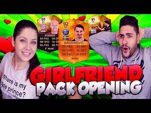 MOTM IBRAHIMOVIC - INFORM STRIKER ROBBEN SPECIAL GIRLFRIEND PACK OPENING / FIFA 16 ULTIMATE TEAM
