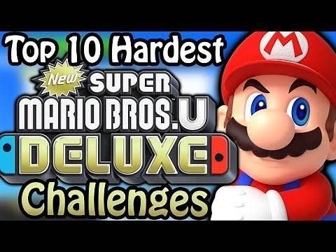 Top 10 Hardest New Super Mario Bros U Deluxe Challenges