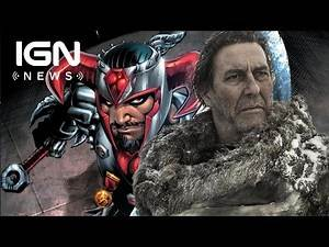Justice League Casts Game of Thrones' Ciaran Hinds as DC Villain Steppenwolf - IGN News