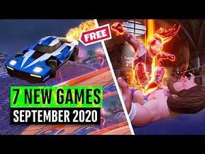 7 New Games September (1 FREE GAME!)