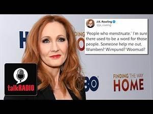 JK Rowling condemned for transgender tweet