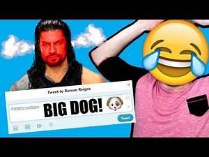 TROLLING WWE SUPERSTARS ON TWITTER!