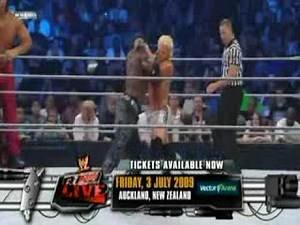 5/29/09 SmackdownThe Great Khali and R Truth vs Dolph Ziggler and Mike Knox