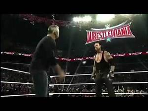 WWE Shane McMahon vs undertaker wrestlemania 32 highlights