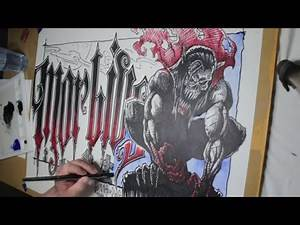 Morbius the Vampire Comic Drawing