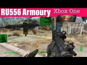Fallout 4 Xbox One Mods|RU556 Armoury