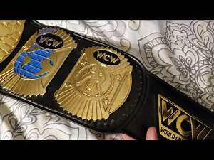 WCW World Title championship belt 91-94 Version by ORM belts