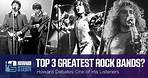 Who Are the Top Three Rock Bands of All Time?
