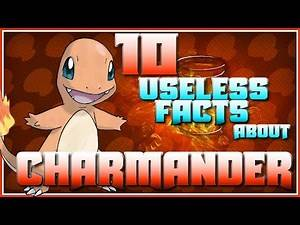 10 USELESS Facts About the Charmander Line || Useless Pokemon Facts